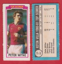 Aston Villa Peter Withe England 145 (TS)